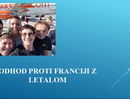 Slovenia – France meeting presentation by pupils