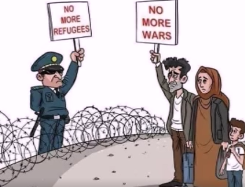 No more refugees! No more wars!